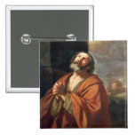 St. Peter 2 Inch Square Button