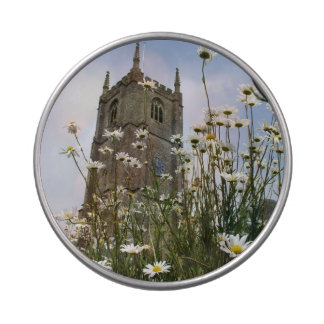 St Peter Ad Vincula church Combe Martin Jelly Belly Candy Tins