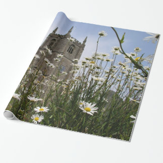 St Peter Ad Vincula church Combe Martin Gift Wrap Paper