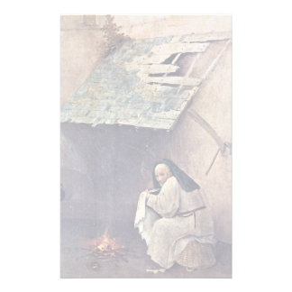 St Peter And Kneeling Donors by Bosch Stationery Paper