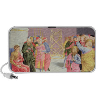 St. Peter and Simon Magus, 15th century iPod Speaker