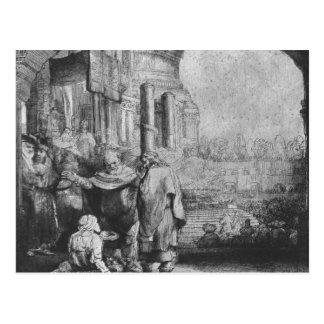 St. Peter and St. John Postcard