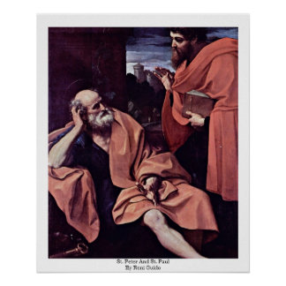 St Peter And St Paul By Reni Guido Print
