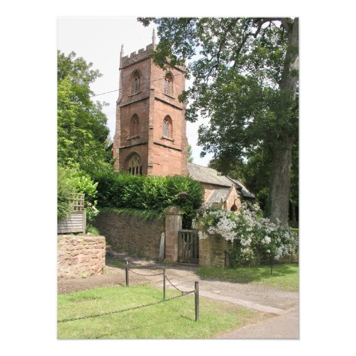 St Peter and St Paul, Combe Florey, Somerset Photo Print