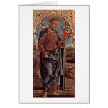 St. Peter By Tura Cosimo Card