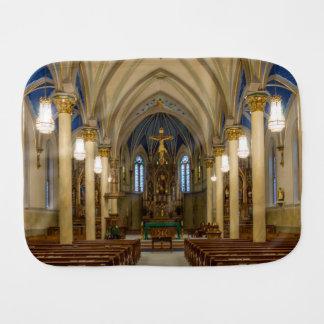 St Peter Catholic Church JC Burp Cloth