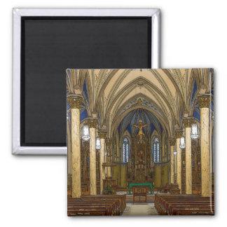 St Peter Catholic Church Painterly Magnet