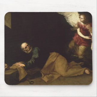 St. Peter Freed by an Angel, 1639 Mouse Pad