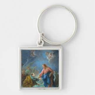 St. Peter Invited to Walk on the Water, 1766 Keychain