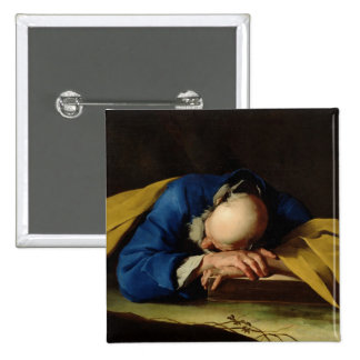St. Peter or St. Jerome Sleeping, c.1735-39 Button