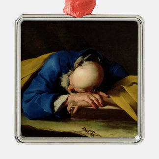 St. Peter or St. Jerome Sleeping, c.1735-39 Metal Ornament
