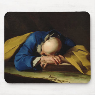 St. Peter or St. Jerome Sleeping, c.1735-39 Mouse Pad