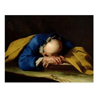 St. Peter or St. Jerome Sleeping, c.1735-39 Postcard