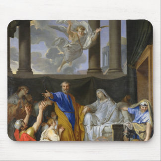 St. Peter Resurrecting the Widow Tabitha, 1652 Mouse Pad