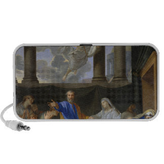 St. Peter Resurrecting the Widow Tabitha, 1652 Portable Speaker