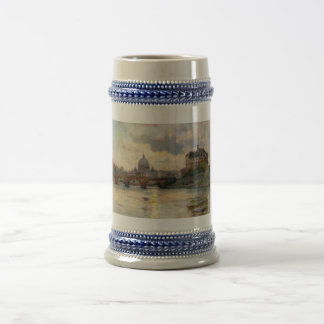 St Peter's Rome From The Tiber Coffee Mugs