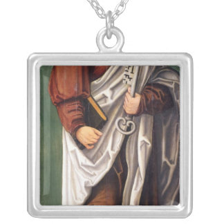 St. Peter Silver Plated Necklace
