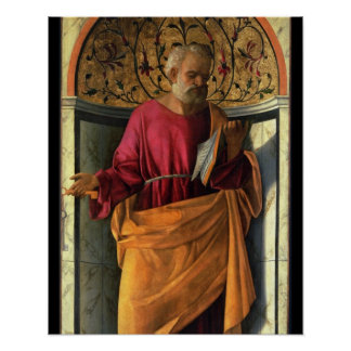 St. Peter (tempera on canvas) Poster