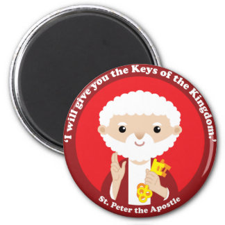 St. Peter the Apostle 2 Inch Round Magnet