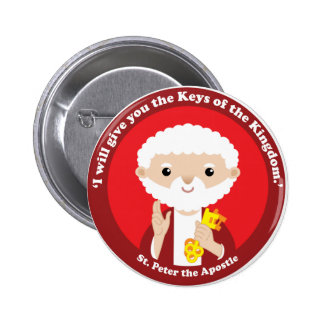 St. Peter the Apostle Button