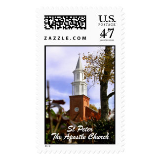 St Peter The Apostle Church Stamp