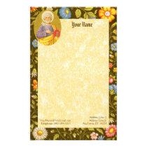 "St. Peter the Apostle (PM 07) 5.5""x8.5"" Stationery"