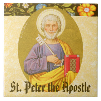 St. Peter the Apostle (PM 07a) Tile
