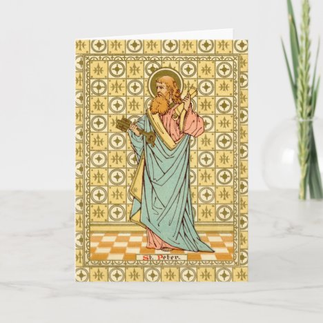 St. Peter the Apostle (RLS 14) Blank Greeting Card