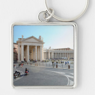 St Peter's Basilica and Columns in Vatican City. Keychain