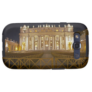 St Peter's basilica at night Samsung Galaxy S3 Cases