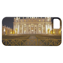 St Peter's basilica at night iPhone SE/5/5s Case