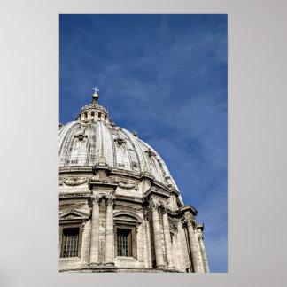 St. Peter's Basilica (Basilica di San Pietro) Poster