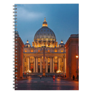 St. Peter's Basilica in Rome - Italy Notebook