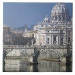 St Peters Basilica Large Square Tile