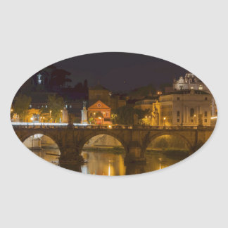 St. Peter's Basilica Oval Sticker