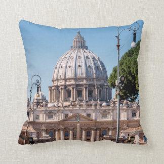 St. Peter's Basilica Throw Pillows
