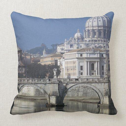 St Peters Basilica Pillow
