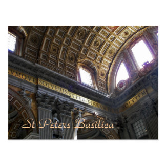 St Peters Basilica Postcard