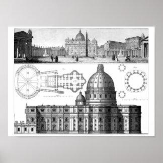 St Peter's Basilica Poster