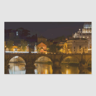 St. Peter's Basilica Rectangular Sticker