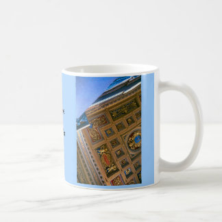 St Peter's Basilica, Rome, under the canopy Coffee Mug