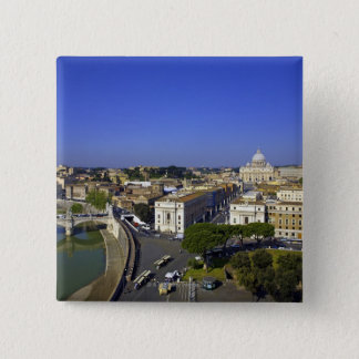 St. Peter's Basilica, State of the Vatican City Pinback Button