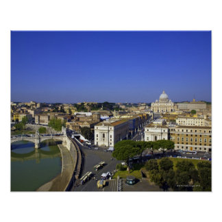St. Peter's Basilica, State of the Vatican City Poster