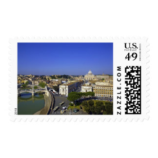 St. Peter's Basilica, State of the Vatican City Stamp