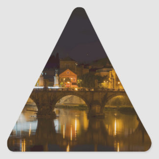 St. Peter's Basilica Triangle Sticker