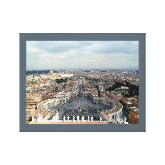 St. Peter's Basilica Vatican City Canvas Print