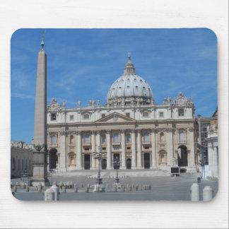 St Peter's Basilica- Vatican City Mouse Pad