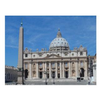 St Peter's Basilica- Vatican City Postcard