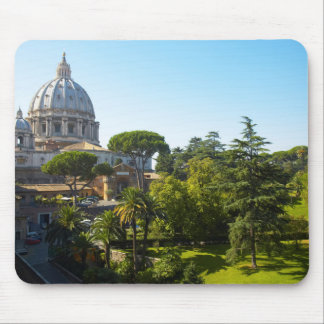 St. Peter's Basilica, Vatican City, Rome, Italy Mouse Pad