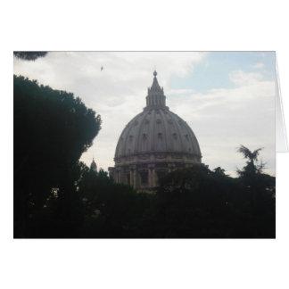 St Peter's Basilica Vatican greeting card